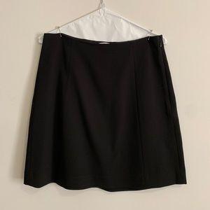 Aritzia crepe satin skirt